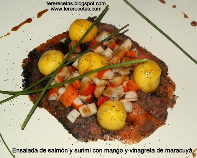 ensalada de salmon ahumado y mango 01
