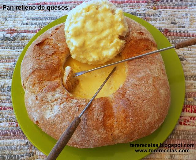 pan relleno de quesos tererecetas 01
