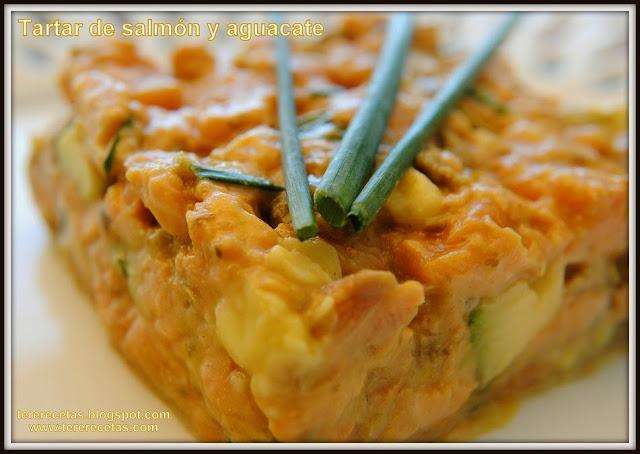tartar de salmón y aguacates receta casera 04