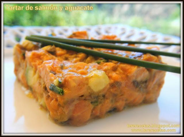 tartar de salmón y aguacates receta casera 02