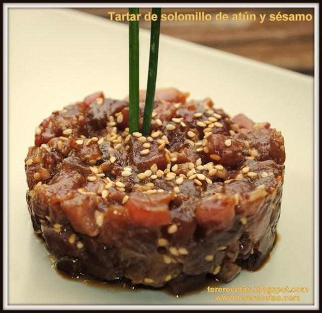 tartar de solomillo de atún con salsa de soja y sésamo 01