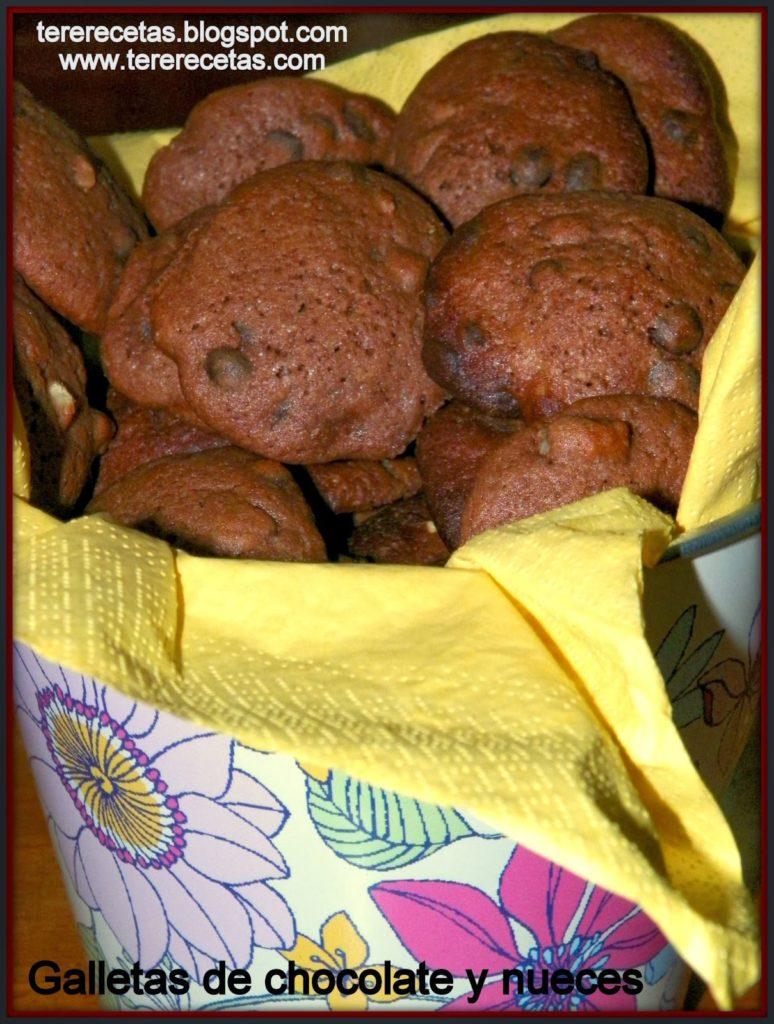 recetas sencillas galletas de chocolate