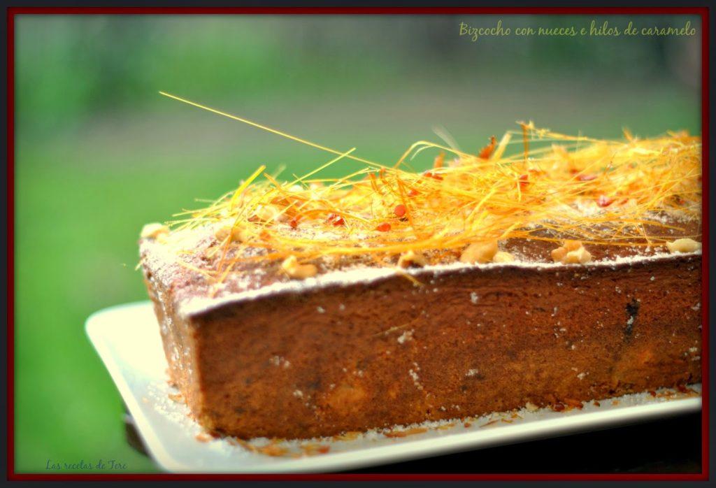 bizcocho con nueces e hilos de caramelo 03