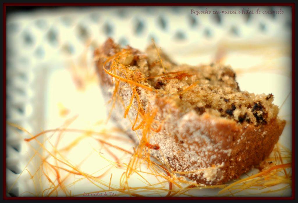 bizcocho con nueces e hilos de caramelo 04