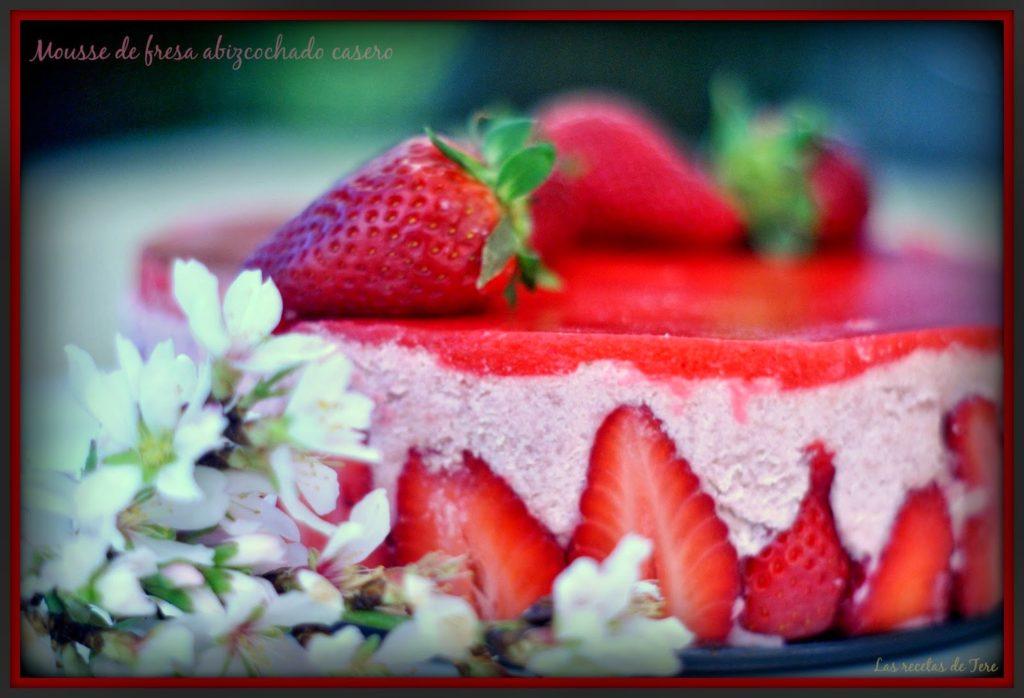 mousse de fresas abizcochado  01