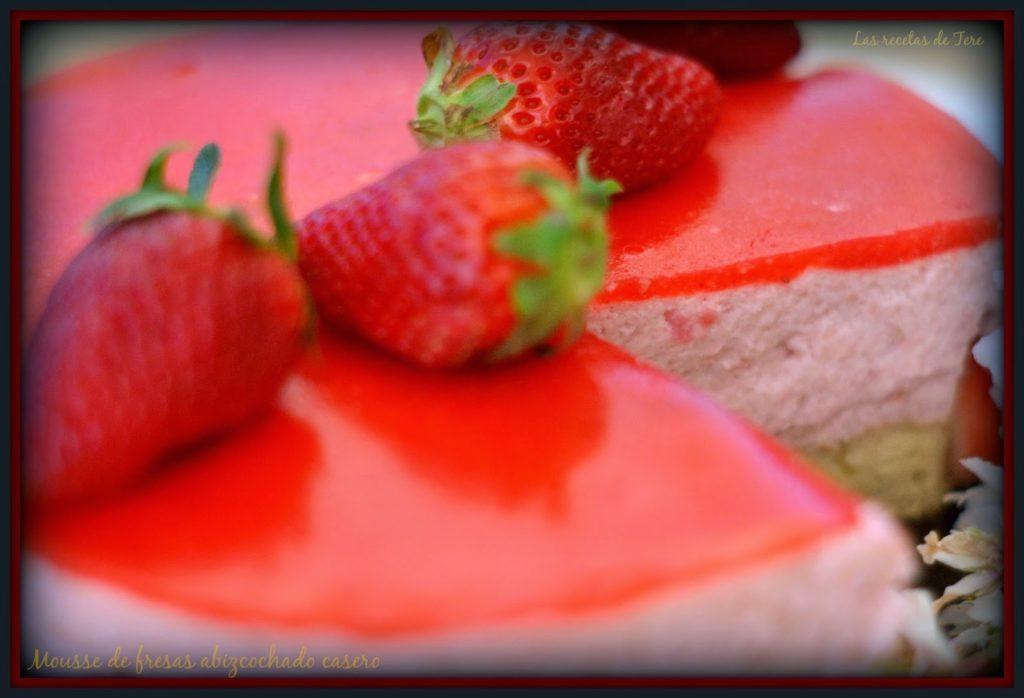 mousse de fresas abizcochado 02