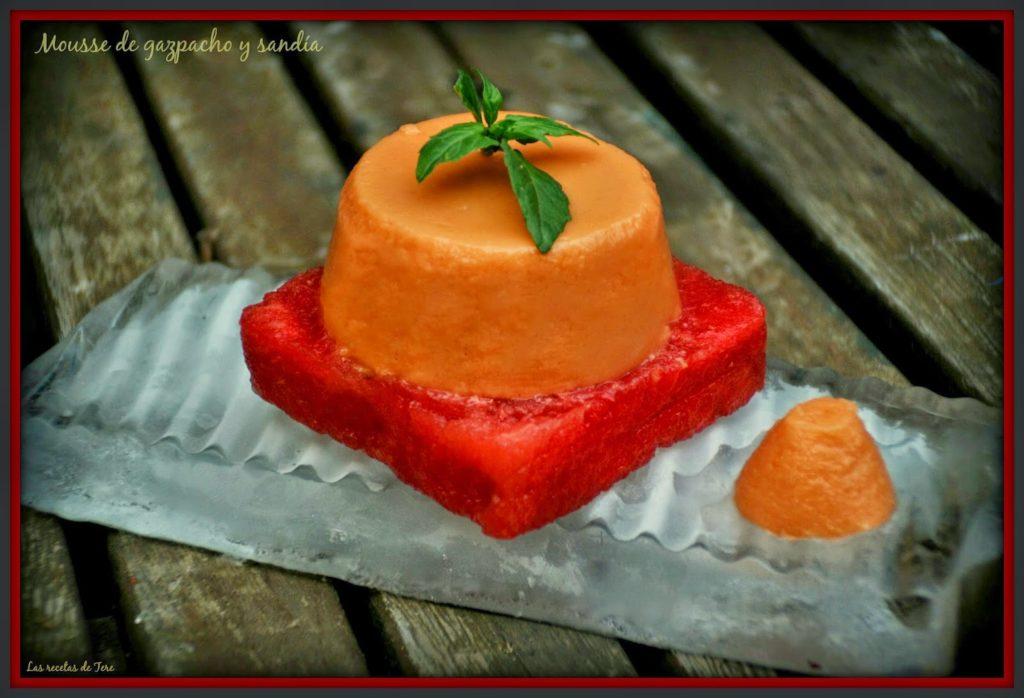 mousse de gazpacho y sandía 04