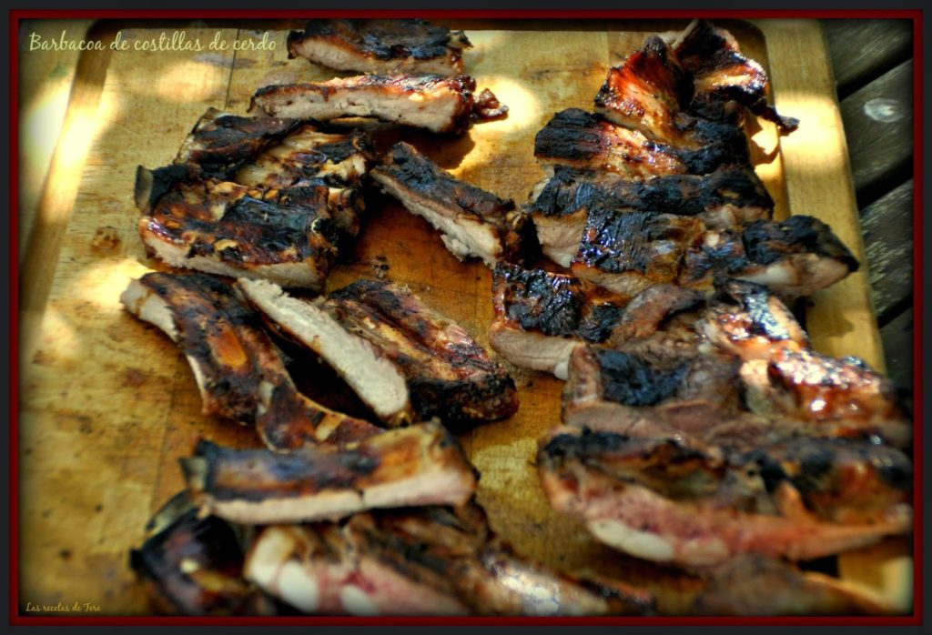 barbacoa de costillas de cerdo 01