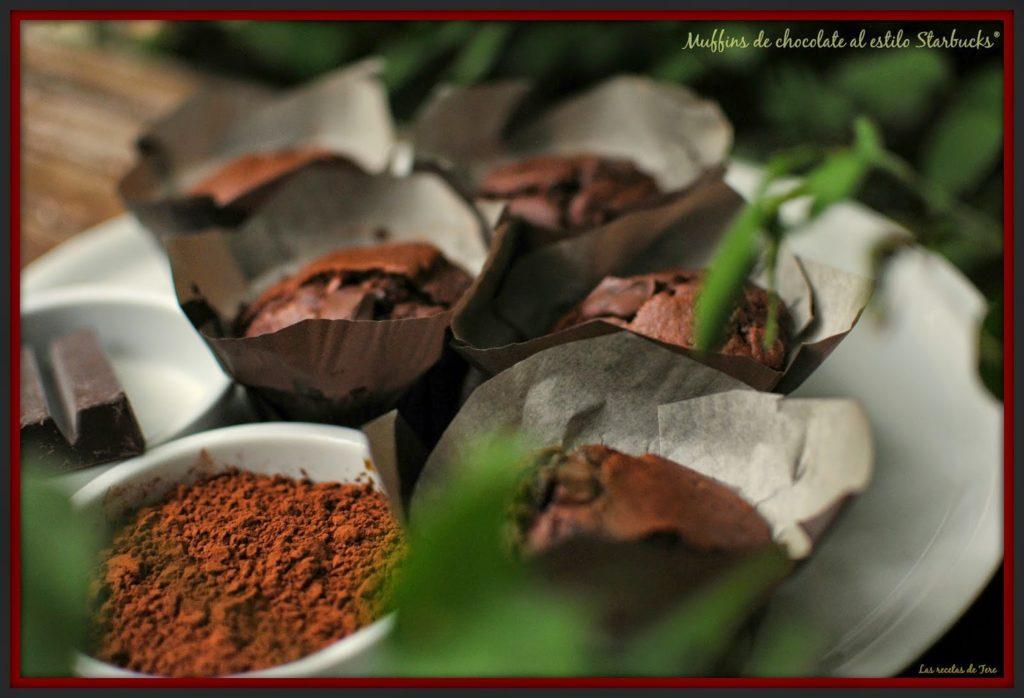 muffins de chocolate al estilo starbucks tererecetas 02