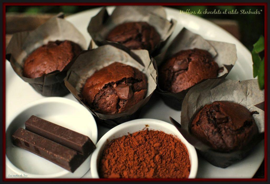 muffins de chocolate al estilo starbucks 03