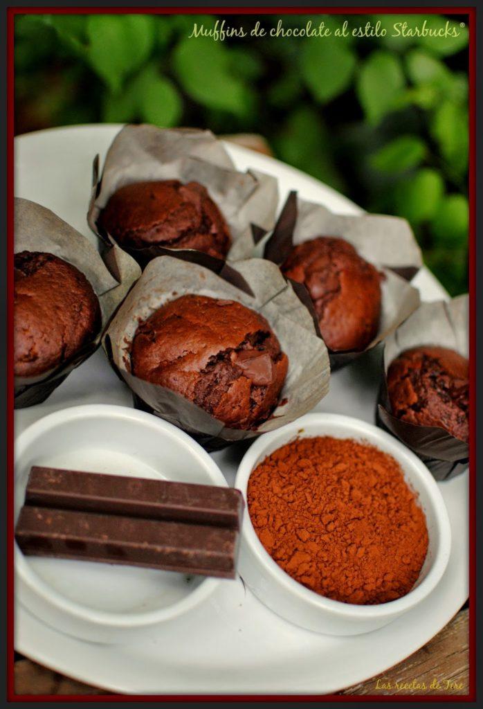 muffins de chocolate al estilo starbucks 06