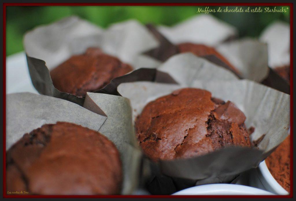 muffins de chocolate al estilo starbucks 07