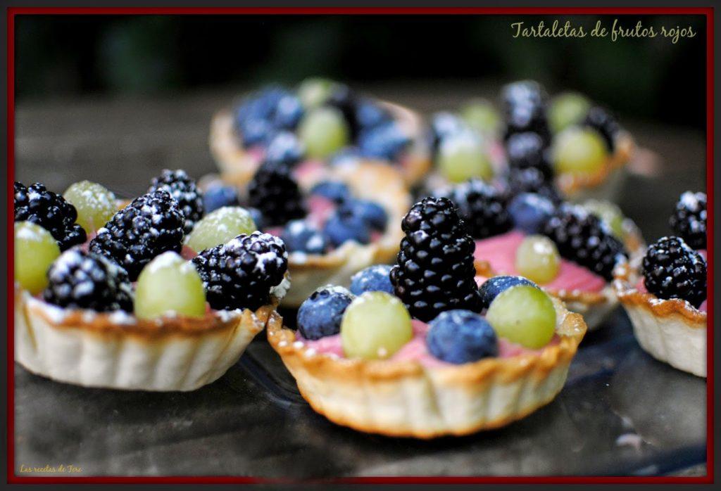 Tartaletas de frutos rojos las recetas de tere 02