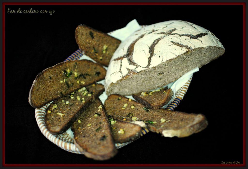 Pan de centeno con ajo tererecetas 01