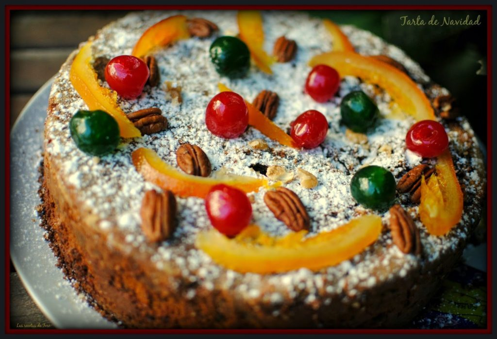 Tarta de Navidad tererecetas 0501