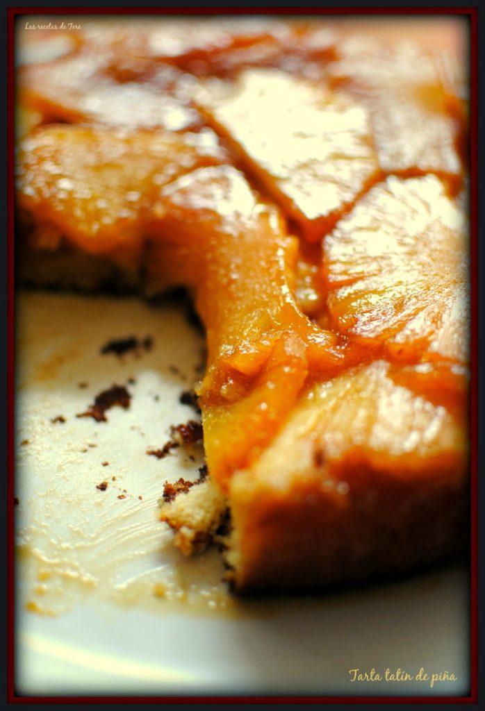 tarta tatín de piña tererecetas 06