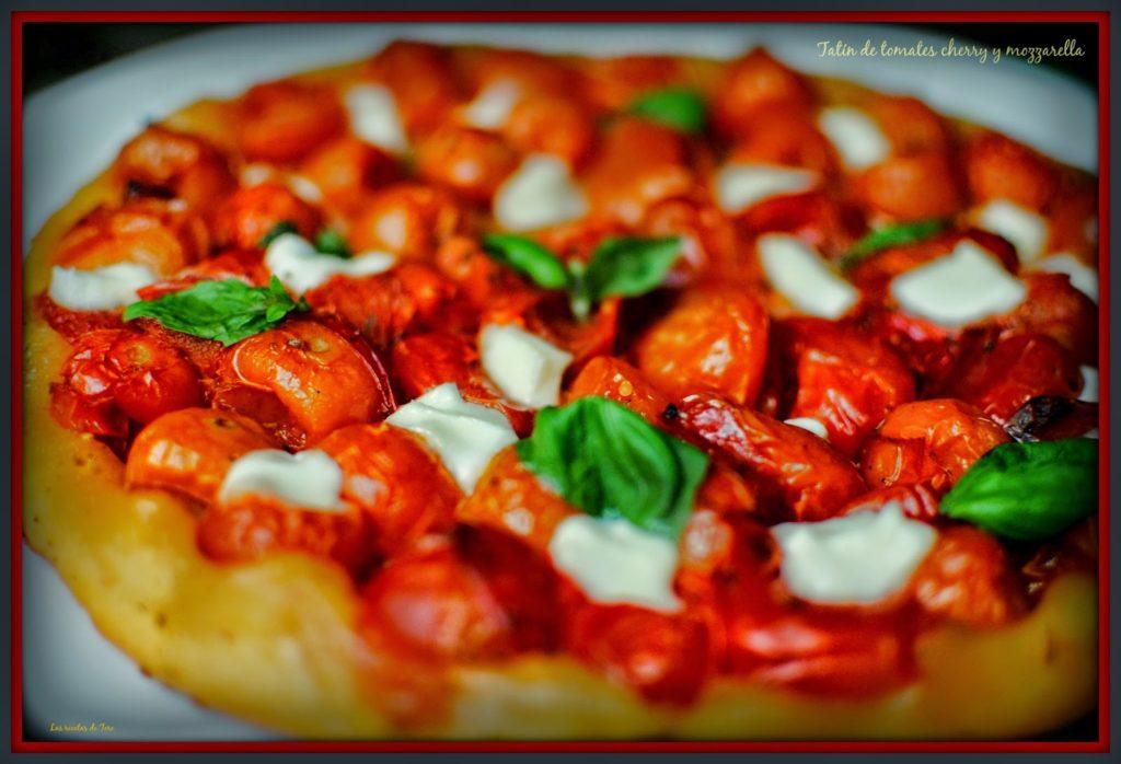 tatín de tomates cherry y mozzarella tererecetas 01