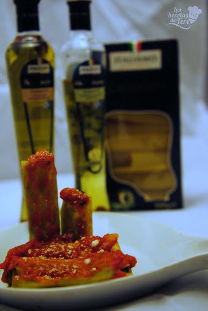 Canelones rellenos de calabaza, espinaca y queso mascarpone tererecetas 02