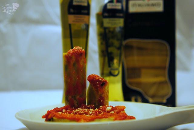 Canelones rellenos de calabaza, espinaca y queso mascarpone tererecetas 03