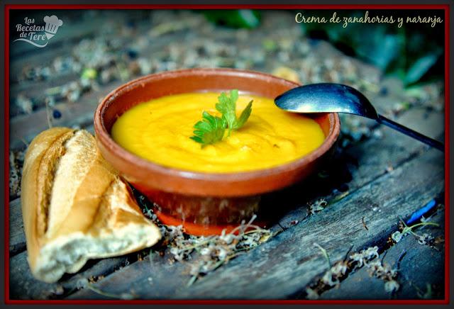 crema de zanahorias y naranja tererecetas 05
