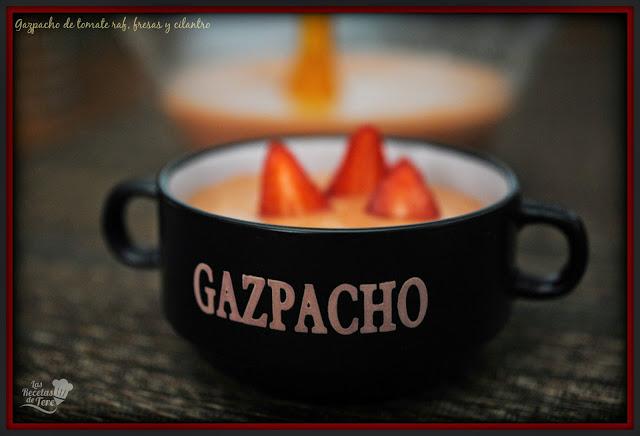 gazpacho de tomate raf fresas y cilantro tererecetas 01