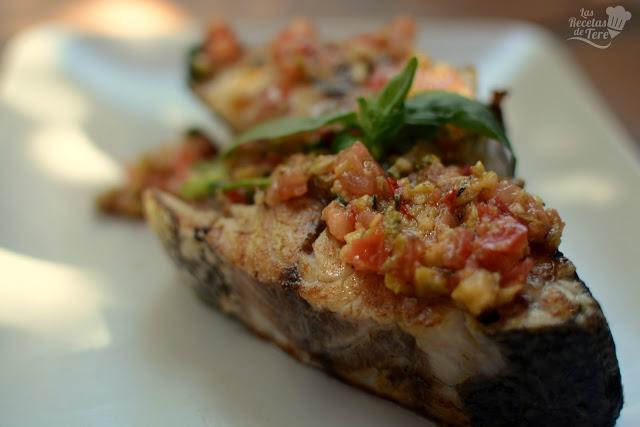 corvina a la plancha con vinagreta mediterranea las recetas de tere 01