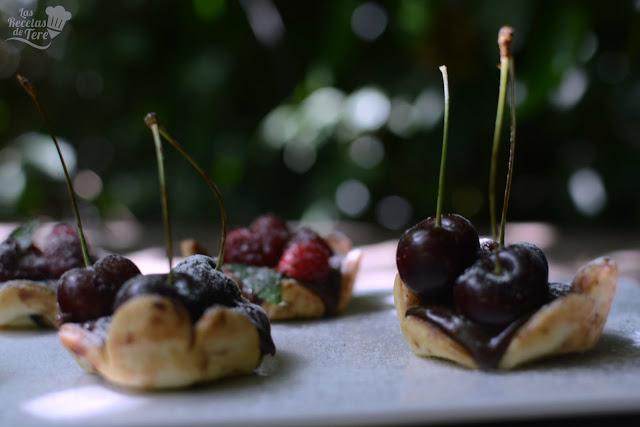 Tartaletas de frutos rojos y chocolate las recetas de tere 04