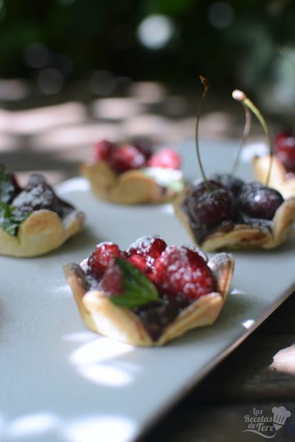 Tartaletas de frutos rojos y chocolate las recetas de tere 02