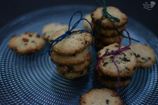 Galletas con chocolate chips tererecetas 03