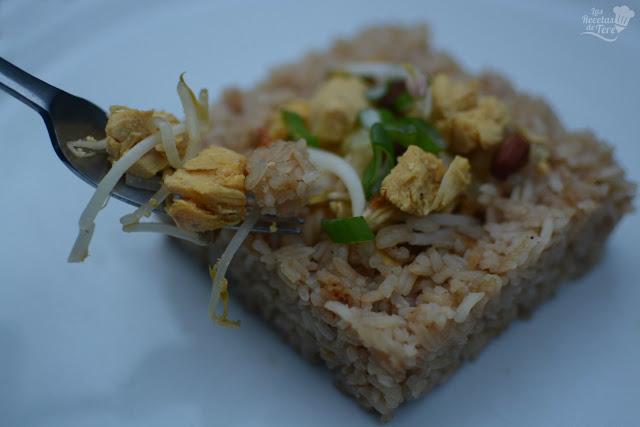 Arroz thai con pollo tererecetas 03