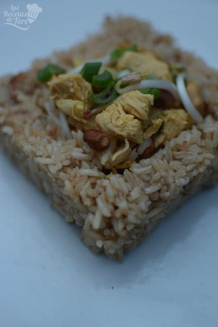 Arroz thai con pollo tererecetas 04