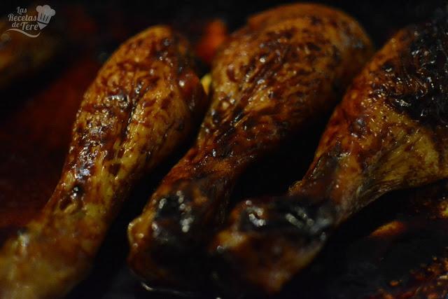 Jamoncitos de pollo con curry y miel tererecetas 01
