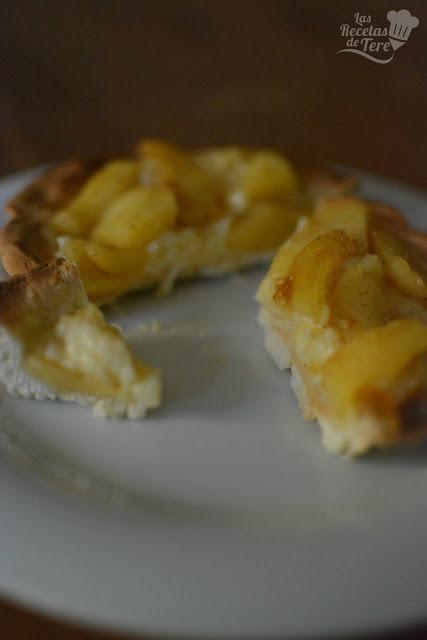 Maravilloso pastel de manzana con crema pastelera tererecetas 02