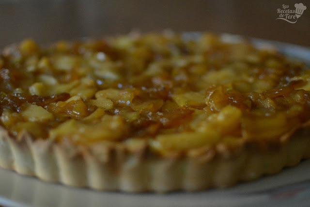 Maravilloso pastel de manzana con crema pastelera tererecetas 01