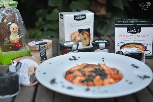 Espaguetis negros de sepia con langostinos y mejillones las recetas de tere 05