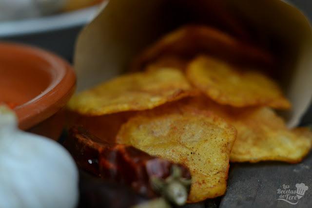 Patatas fritas aliñadas tererecetas 04