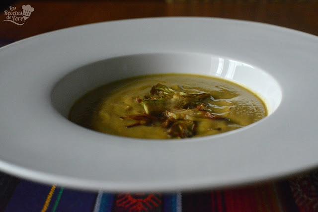 receta de crema de alcachofas tererecetas 04