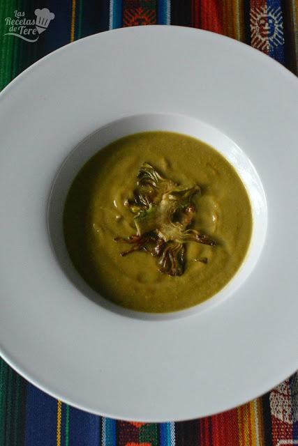 receta de crema de alcachofas tererecetas 02