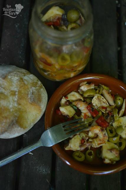 receta de salpicón de langostinos y rejos tererecetas 04