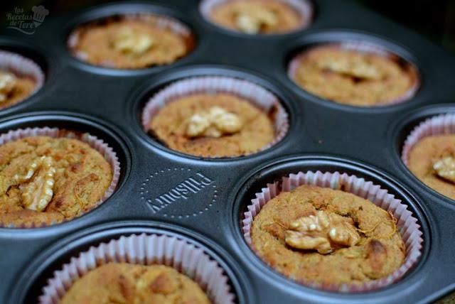 muffins de harina de avena manzana y zanahoria 01