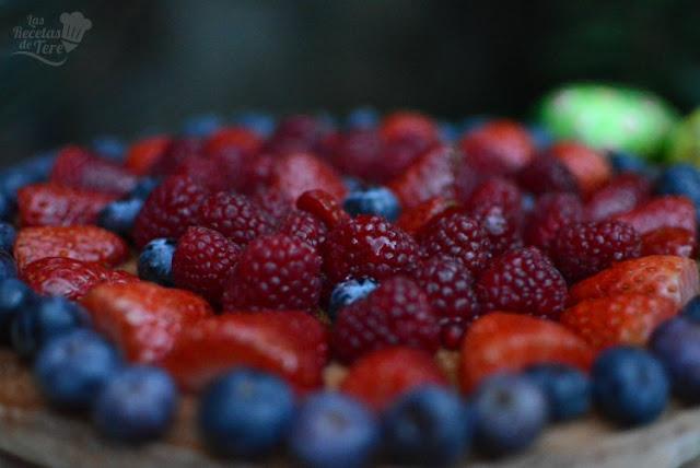 Postre fácil tartaleta de frutos rojos 02