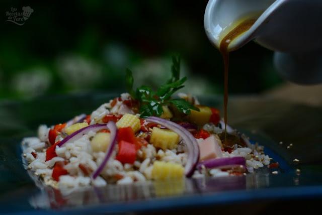 ensalada de arroz sos con pavo ahumado 04