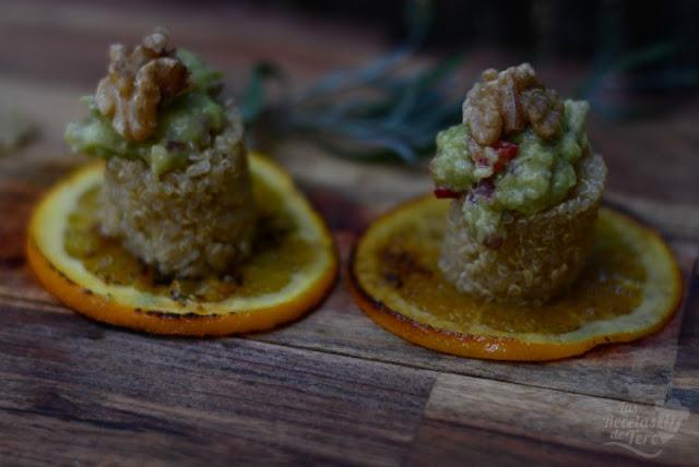 Maravillosa ensalada de quinoa, nueces y guacamole tererecetas 01