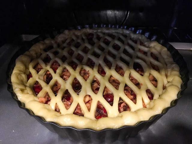 pastel de arándanos rojos 04