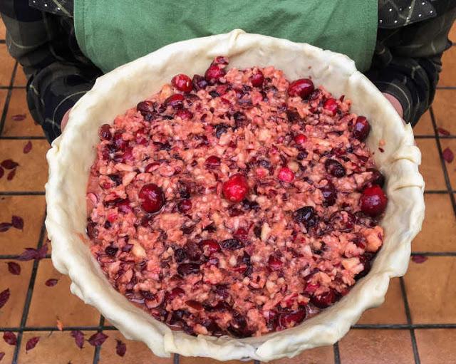 pastel de arándanos rojos 02