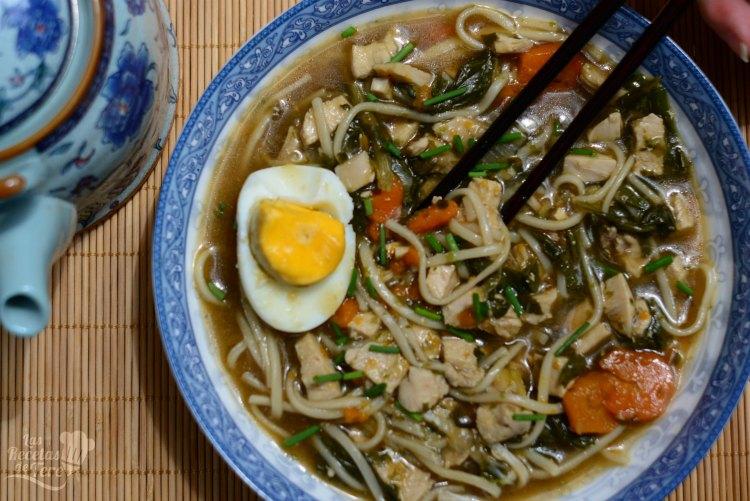 Ramen, receta tradicional japonesa  01