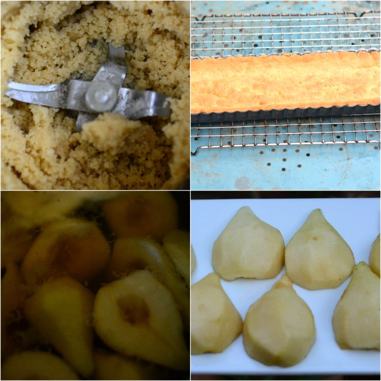 La mejor receta de tartaleta de peras y almendras