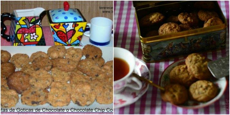 Collage Galletas De Chocolate Chipas Y Nueces 02