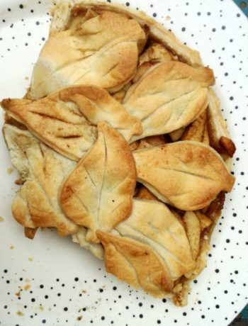 Receta casera del mejor pastel de manzanas al brandy con especias