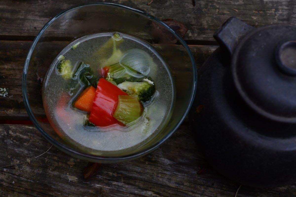 La más rica y reconfortante sopa vegetariana